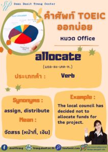 TOEIC word of the day 25 May, 2021