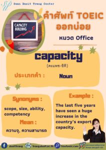 TOEIC word of the day 1 June, 2021